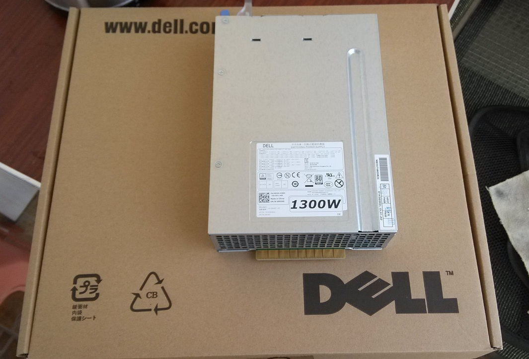 Power supply for Dell MF4N5 Precision T7600 1300W  D1300EF-01 DPS-1300EB
